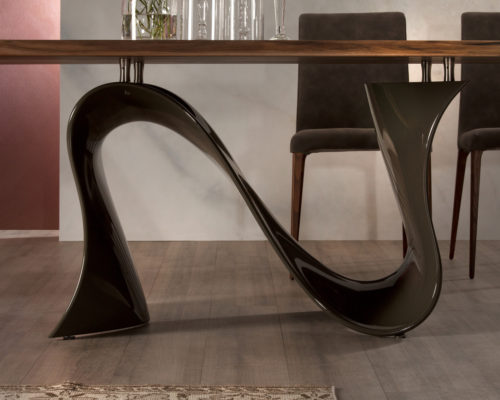 Tonin Casa Wave Dining Table