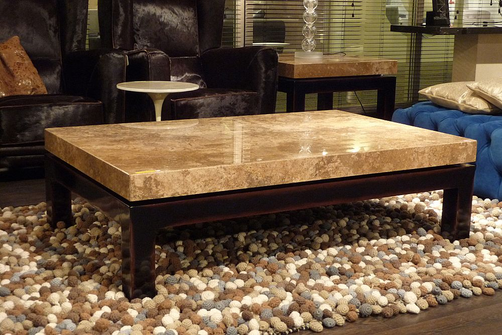 Stone Intl 0470 rectangular cocktail table