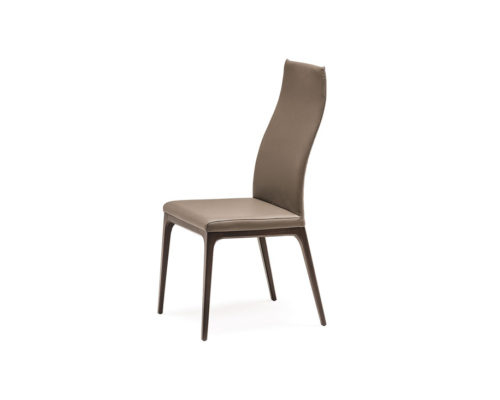 Dining chairs Cattelan Italia style Arcadia high back