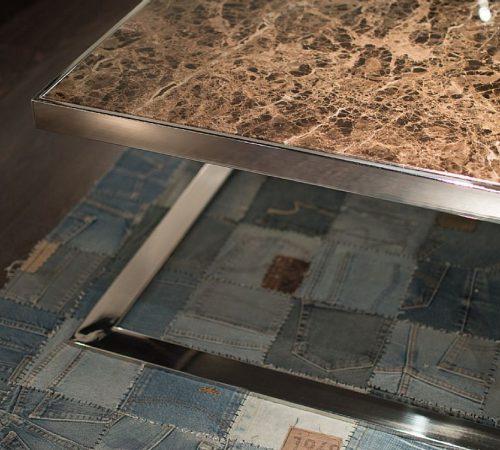 Stone Intl 8193-IMP-ST cocktail table detail