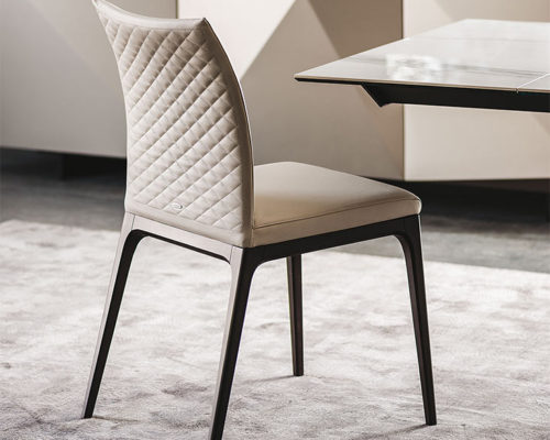 Dining chairs Cattelan Italia style Arcadia Couture low back
