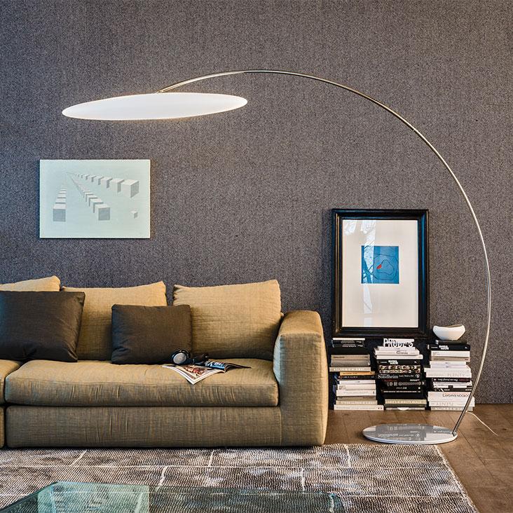 Cattelan Italia Astra arc lamp, pendant, chandelier