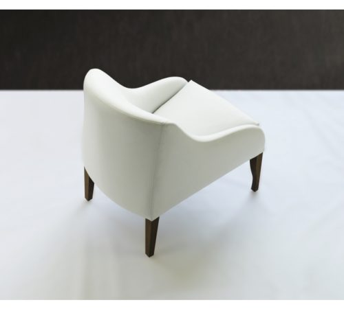 Nathan Anthony Caffe chair back view
