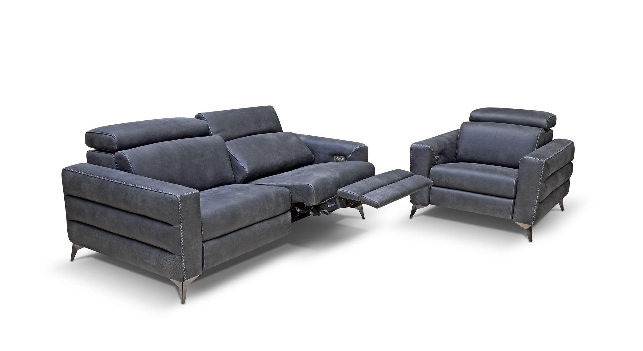 Bracci Ermes power sofa & chair