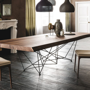 Cattelan Italia Gordeon dining table wood top