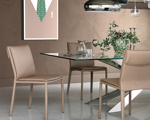 Dining chairs Cattelan Italia style Isabel low back chair