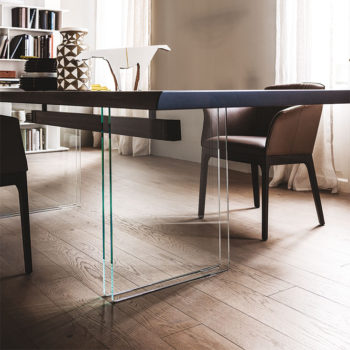 Cattelan Italia Ikon dining table wood top