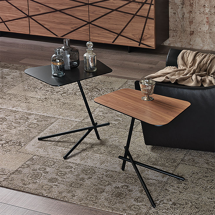 Cattealn italia laser accent tables