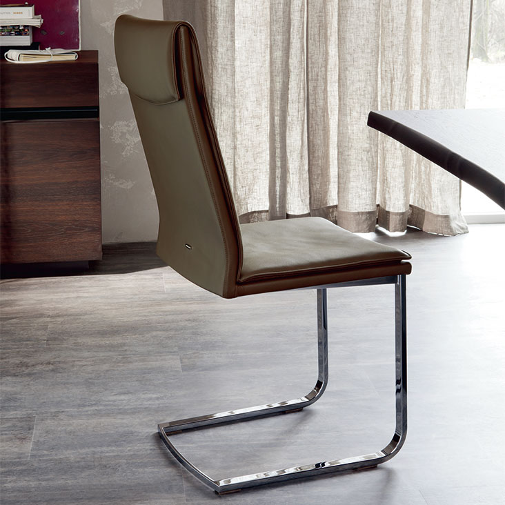 Dining chairs Cattelan Italia style Liz high back chair