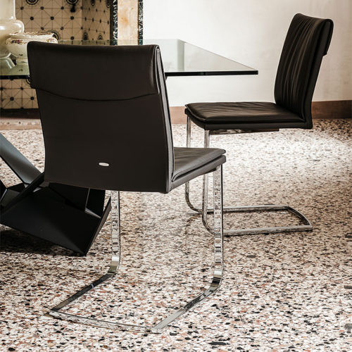 Dining chairs Cattelan Italia style Liz low back chair