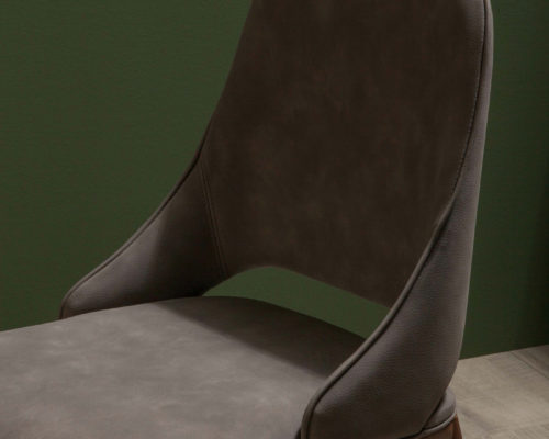Tonin Casa Malva dining side chair