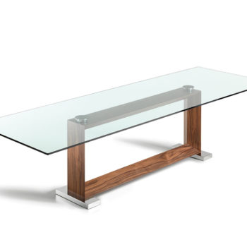 Cattelan Italia Monaco woodbase glass top