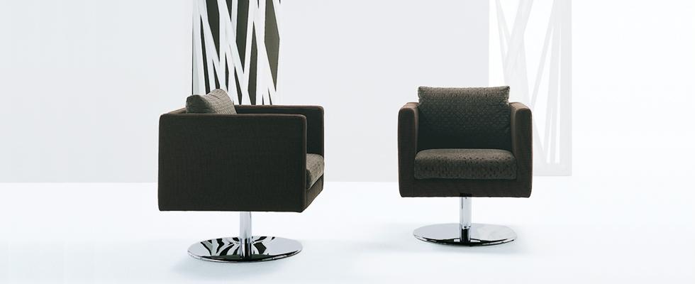 Dellarobbia Ozzie swivel chair
