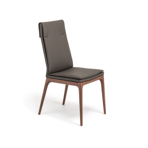 Dining chairs Cattelan Italia style Sophia high back
