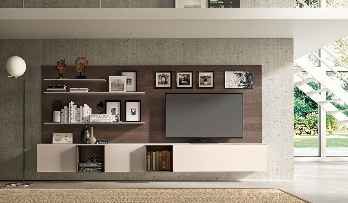 Pianca Spazzio Wall Unit