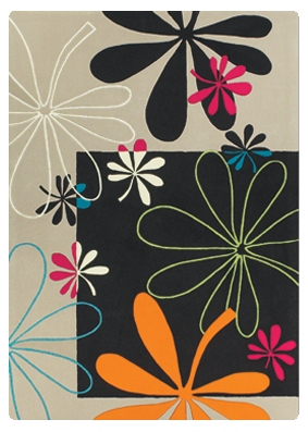 Dellarobbia area rug Windflowers